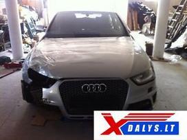 Audi Rs4 dalimis. W  bene