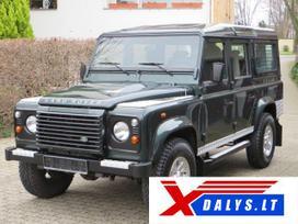 Land Rover Defender dalimis. W