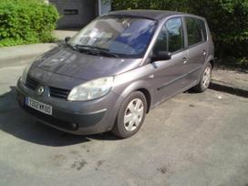 Renault Scenic. 1,5 dci dalymis gerom kainom