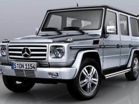 Mercedes-benz G klasė. ! naujos