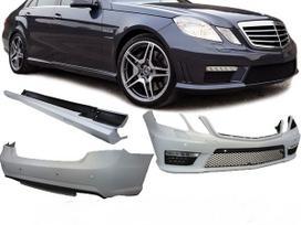 Mercedes-benz E klasė. Amg e63 bamperiai