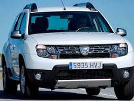 Dacia Duster dalimis. 6 pavaros atnaujintas