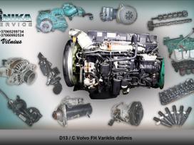 Volvo Variklio dalys D12D/D13A/ D13C
