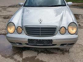 Mercedes-benz E klasė. Dalimis superkame