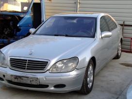 Mercedes-benz S klasė dalimis. 4,0 dyzel