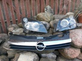 Opel Astra. Pr. bamperiai, pr. žibintai xenon