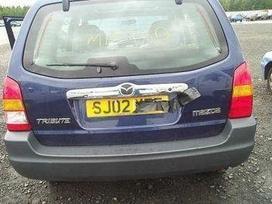 Mazda Tribute. Vairas dešinėje  darbo