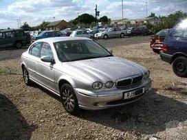 Jaguar X-type. Vairas dešinėje  darbo