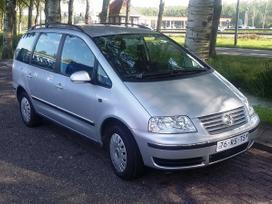 Volkswagen Sharan dalimis. Is vokietijos