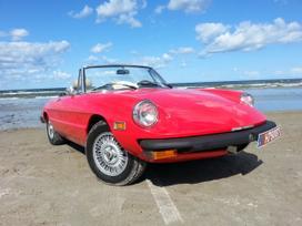 Alfa Romeo Spider, 1.6 l., kabrioletas