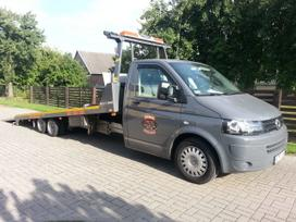 Volkswagen T5, road train rental