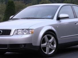 Audi A4 dalimis. Pigios kėbulo dalys,