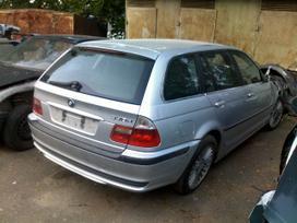 BMW 3 serija. Bmw 330d, automatas, klima, cd keitiklis, r17