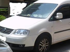 Volkswagen Caddy dalimis. Pigios kėbulo dalys, žibintai,