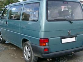 Volkswagen Transporter dalimis. Pigios kėbulo dalys, žibintai,