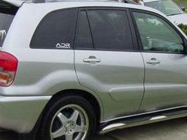 Toyota Rav4 dalimis. Kėbulo dalys, žibintai,
