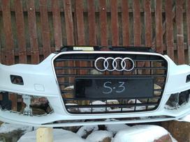 Audi S3. Priekinis buferis,grotelės,s-sparnai