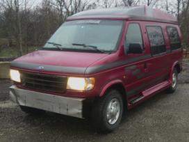 Ford Econoline dalimis. Uued ja kasutatud
