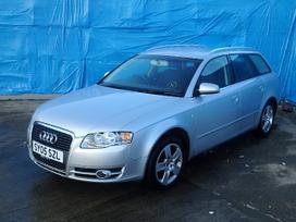 Audi A4. Audi a4 2.0tdi dalimis 2006 m.