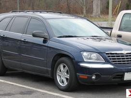 Chrysler Pacifica dalimis. 