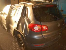 Volkswagen Tiguan. Is vokietijos vežame