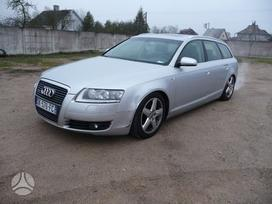 Audi A6 dalimis. 2 automobiliai (universalas