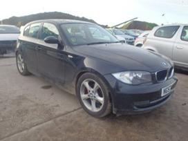 BMW 1 serija. Variklis parduotas (n43b16aa), bet liko daliu