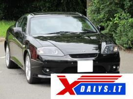 Hyundai Coupe dalimis. Jau dabar e