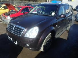 Ssangyong Rexton dalimis. Is anglijos, srs,