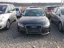 Audi A4 dalimis. Salonas pusiau oda!