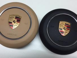 Porsche Cayman salono detalės