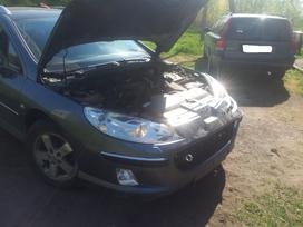 Peugeot 407. Europa. webasto.turime ir su kitokiais varikliais.