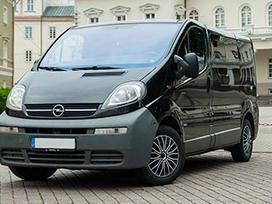 Renault Trafic по частям.  ardomi ivairus mikroautobusai