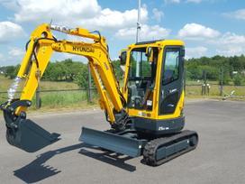 Hyundai R25Z-9A, construction and road construction equipment rental