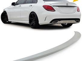 Mercedes-benz C klasė. Amg optik spoileriai