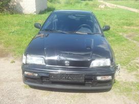 Honda Crx. Galimas detalių persiuntimas į