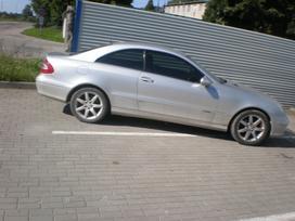 Mercedes-benz Clk270 dalimis. Amg slenksciai