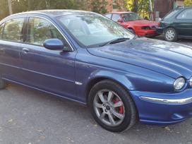Jaguar X-type dalimis. Teirautis tel.