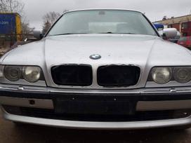 BMW 730 dalimis. Bmw e38 730d 2001m.  spalva: titansilber