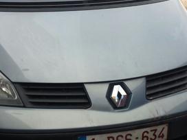 Renault Espace dalimis. Superkame įvairios