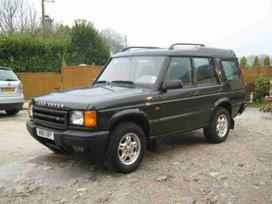 Land Rover Discovery dalimis. Auto is uk