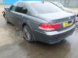 BMW 730. Bmw 730 2007m ,170 kw, ratai r20, juodas odinis salonas,
