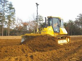 Cat Buldozerio nuoma paslaugos, construction and road construction equipment rental