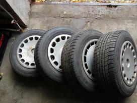 Bmw R15 Aliuminiai ratai, plieniniai