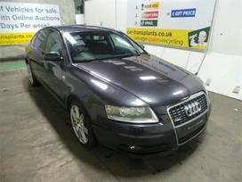 Audi A6 dalimis. 4 automobiliai audi a6 (c6),
