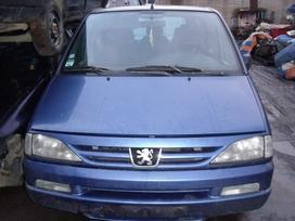 Peugeot 806. Dalimis