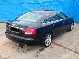 Audi A6. Naujai ardomas automobilis: variklio