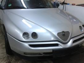 Alfa Romeo Spider. Automobilis iš vokietijos