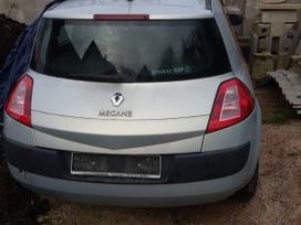 Renault Megane по частям. Yra ir juoda(1.5 dci).