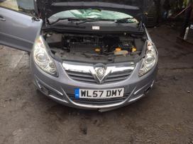 Opel Corsa dalimis. 1,4 benziniukas, virtes